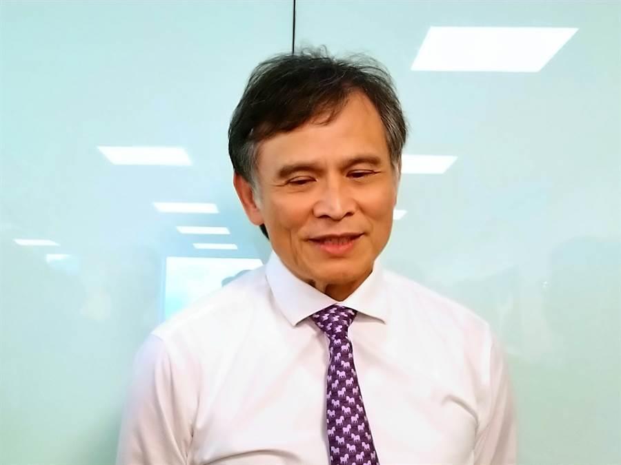 京城銀董事長戴誠志。(林資傑攝)