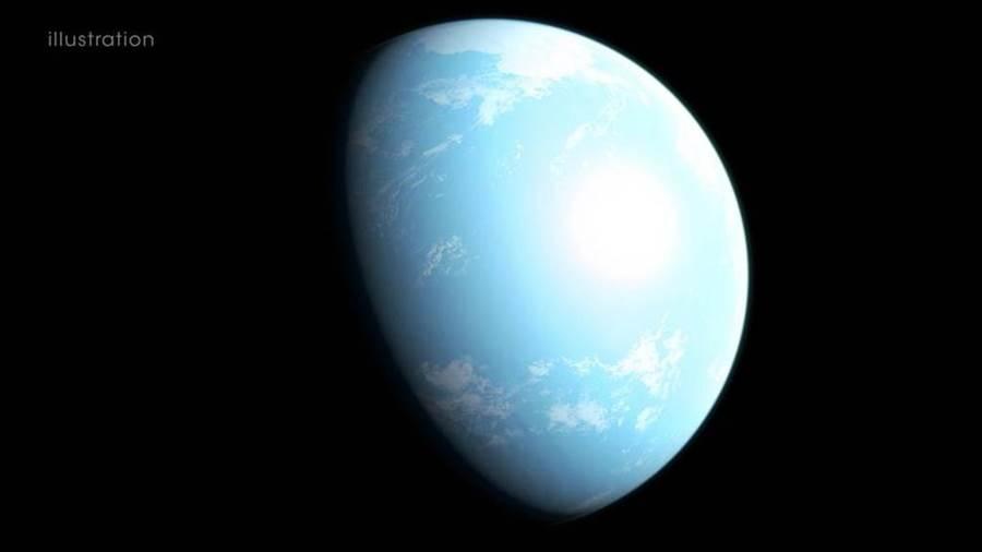 行星GJ 357 d可能的外觀。(圖取自NASA網頁www.nasa.gov)
