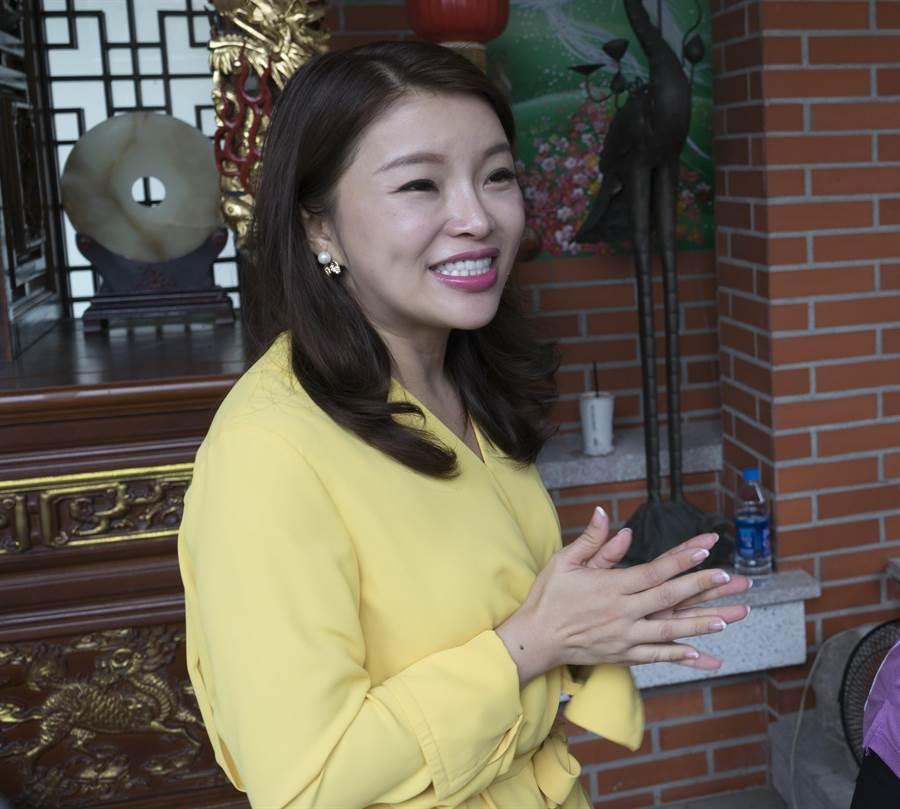 國民黨中央決定由前立委張嘉郡代表參選雲林第1選區立委。(許素惠攝)