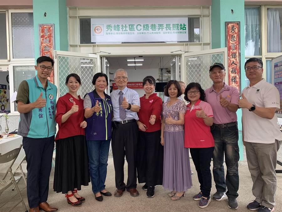 秀傳醫院在鹿谷鄉秀峰村,成立長照站。(廖志晃攝)