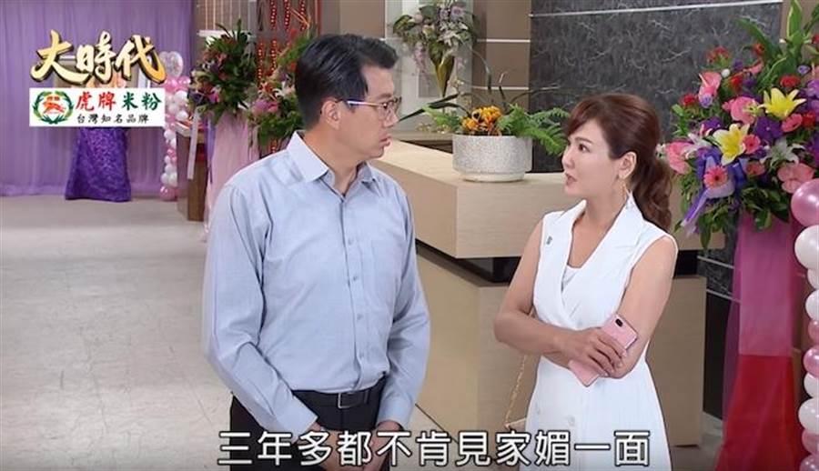 吳皓昇與邱琦雯飾演夫妻。