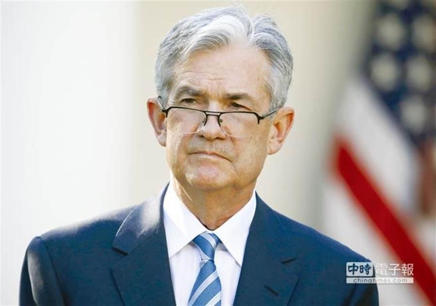 美國聯準會(Fed)主席鮑爾。(圖/美聯社)