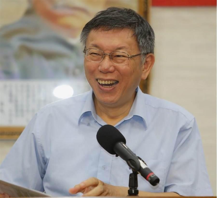 台北市長柯文哲。(資料照/季志翔攝)