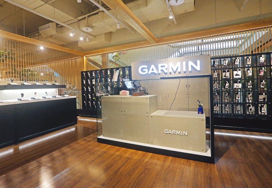 在美股掛牌的衛星導航與穿戴裝置品牌Garmin,公布亮麗財報並調高財務預測,激勵股價一度狂飆。圖/本報資料照片