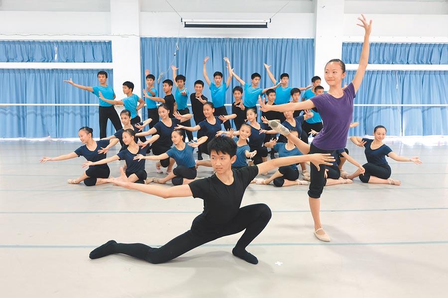蔦松藝術高中是偏鄉學校轉型成功的最佳典範。(張朝欣攝)