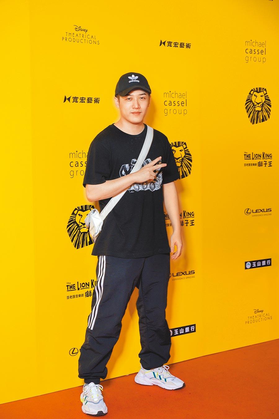 熊仔昨去台北小巨蛋看音樂劇《獅子王》。