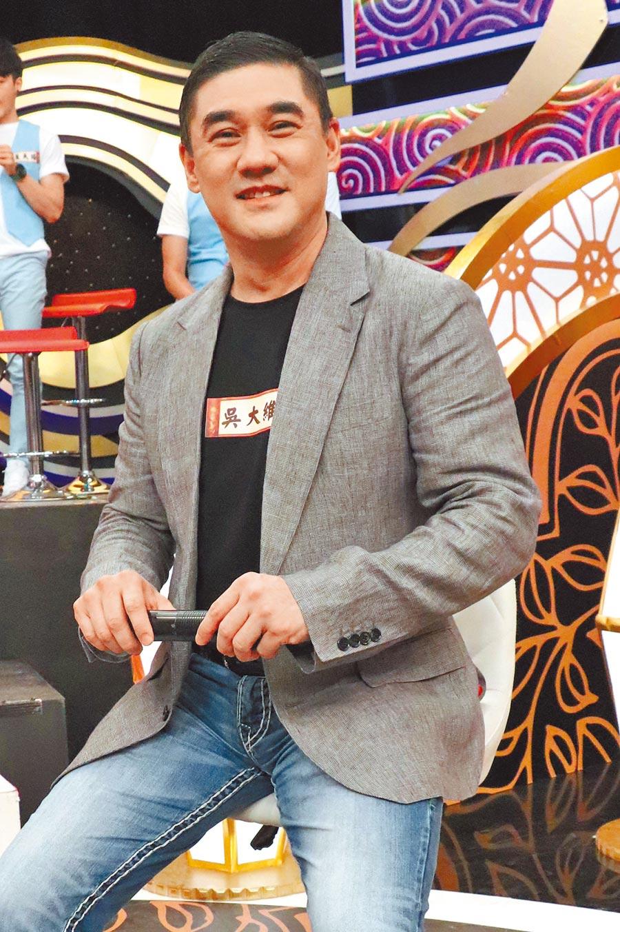 吳大維昨錄《麻辣天后傳》。