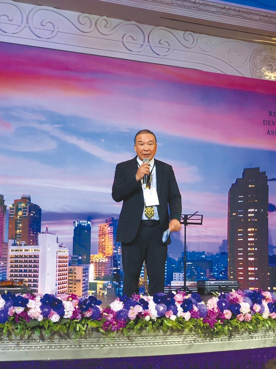 富旺國際開發董事長林正雄。圖/黃繡鳳