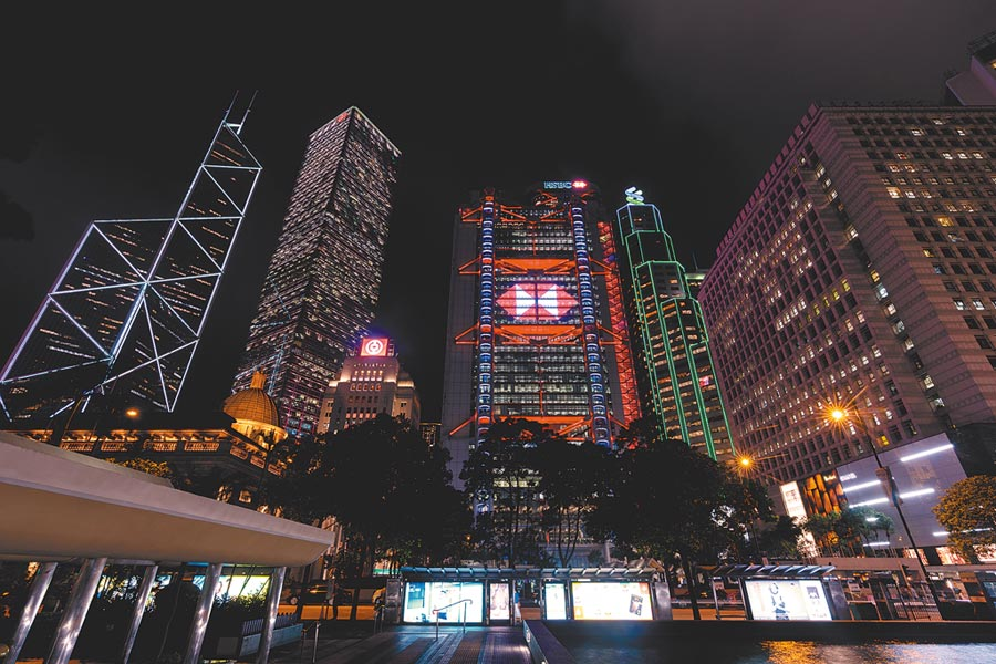 8月1日上午,香港基本利率下調25基點,即時生效,這是2008年以來香港首次降息。(中新社)
