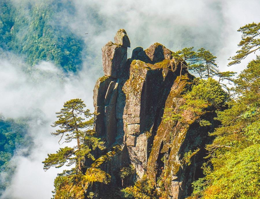 江西羊獅慕景區美景。(圖/許南平)