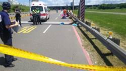 影片曝光 母騎車自撞 1歲女嬰頭顱破裂身亡