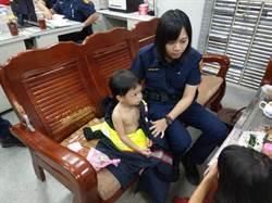 2歲男童包尿布溜出門  警尋回助母子團圓