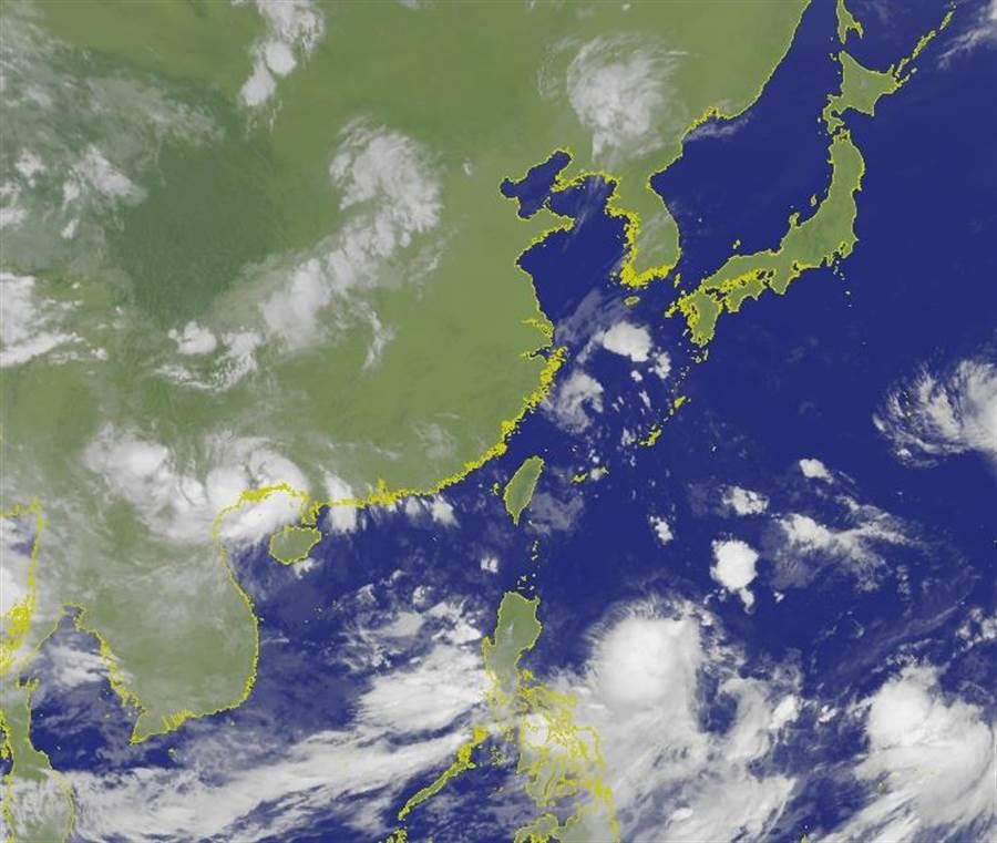 氣象專家吳德榮透露,多個颱風正在醞釀中。(擷取自中央氣象局)