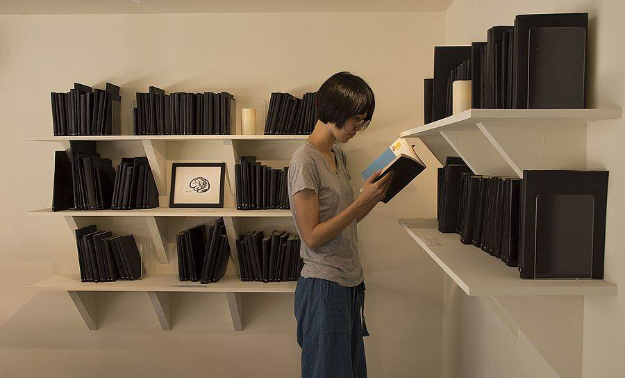 遠方的書間。(圖取自當代館官網)
