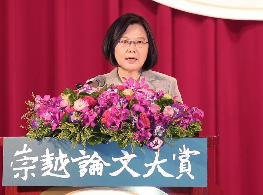 總統蔡英文(圖/姚志平 攝)