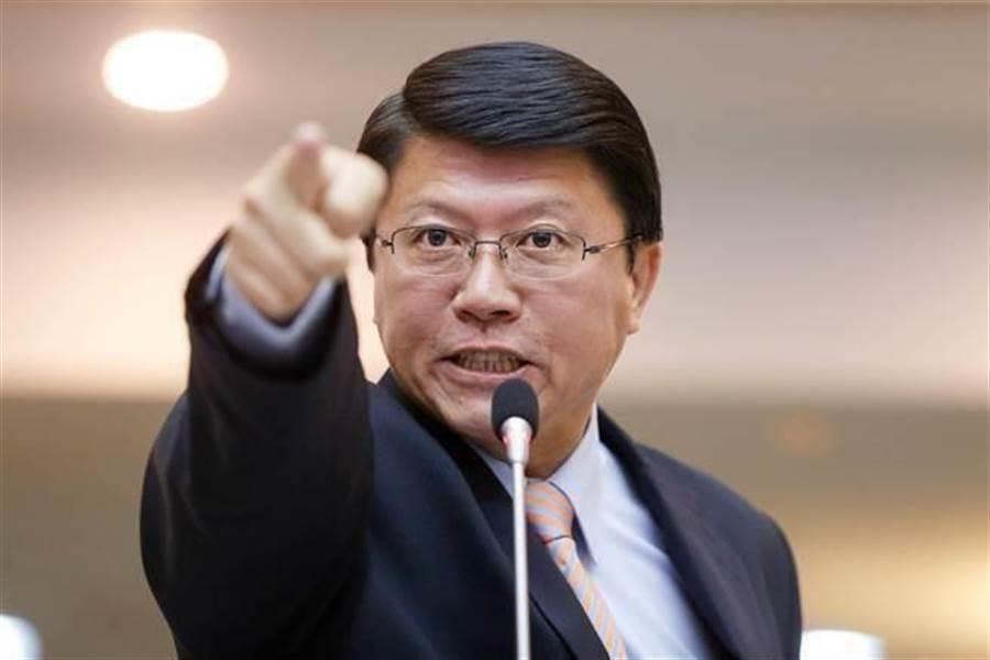 國民黨台南市黨部主委謝龍介。(圖/本報資料照)