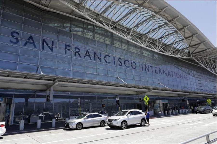 圖為舊金山機場。(美聯社)