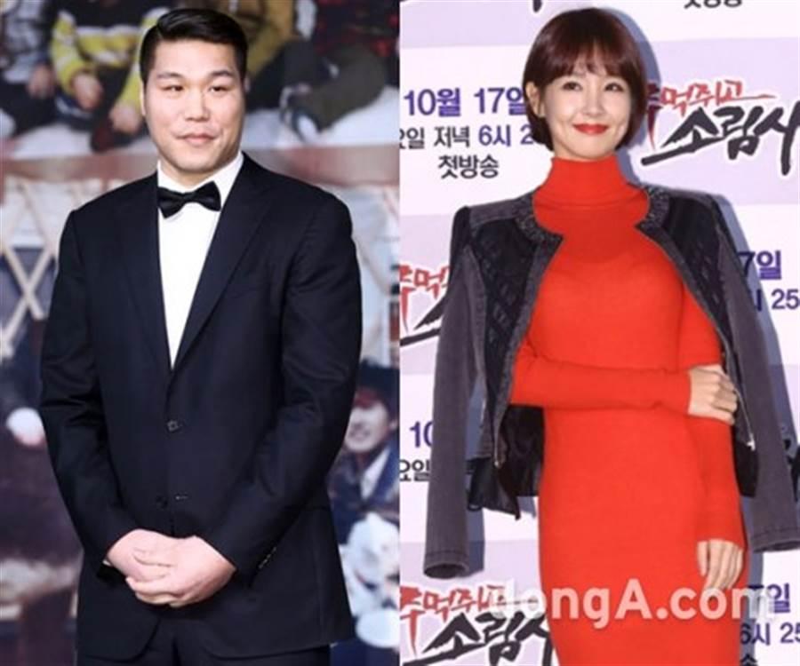 吳靜妍和徐章勳2012年離婚。(圖/取自《東亞日報》韓網)