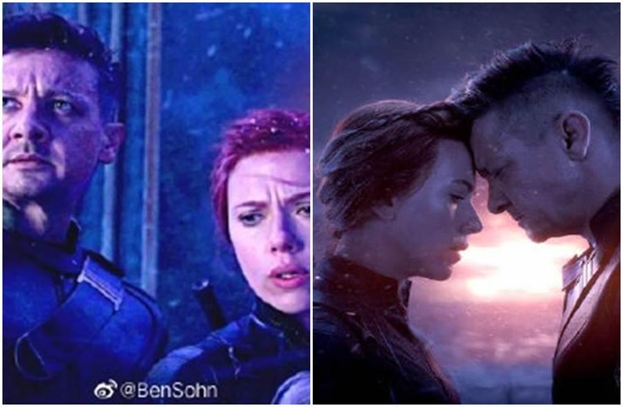 復仇者編劇透露黑寡婦、鷹眼在劇中原有段「柏拉圖式戀愛」。(圖/微博)