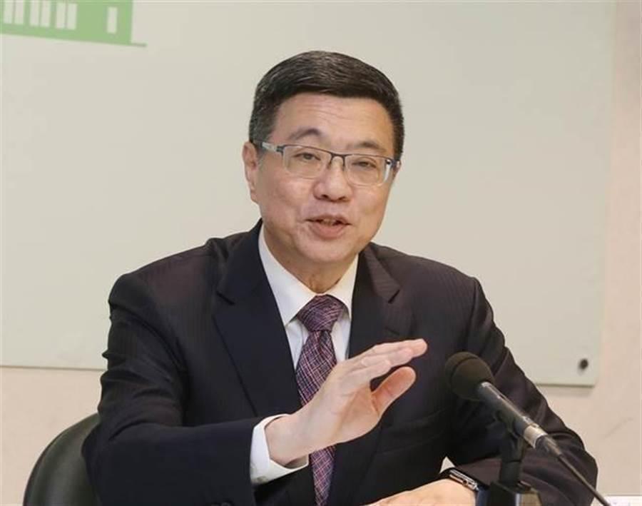 民進黨主席卓榮泰(中)。(圖/本報資料照片)