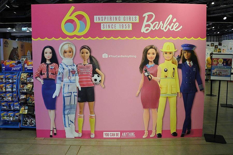《芭比60周年夢想展》看歷屆芭比展現風姿!