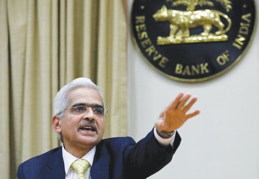 印度儲備銀行下周將舉行會議,預估基準利率將下調25個基本點至5.5%。圖/路透