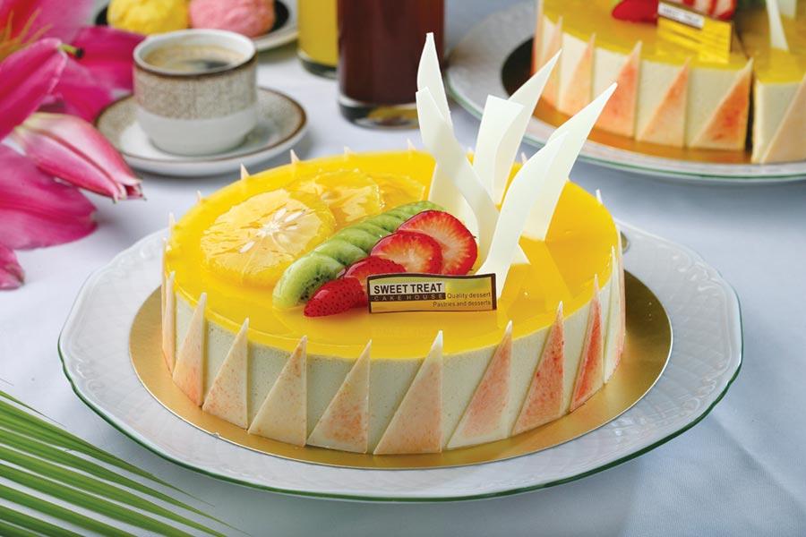 台北王朝大酒店SUNNY CAFE自即日起至8月11日,6吋、8吋蛋糕一律88折。圖/台北王朝大酒店