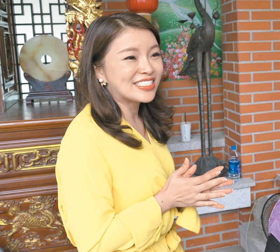 國民黨雲林第1選區立委人選確定由前立委張嘉郡披掛上陣。(許素惠攝)
