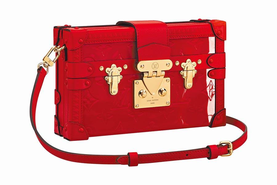 LV Petite Malle小硬箱,17萬4000元。(LV提供)