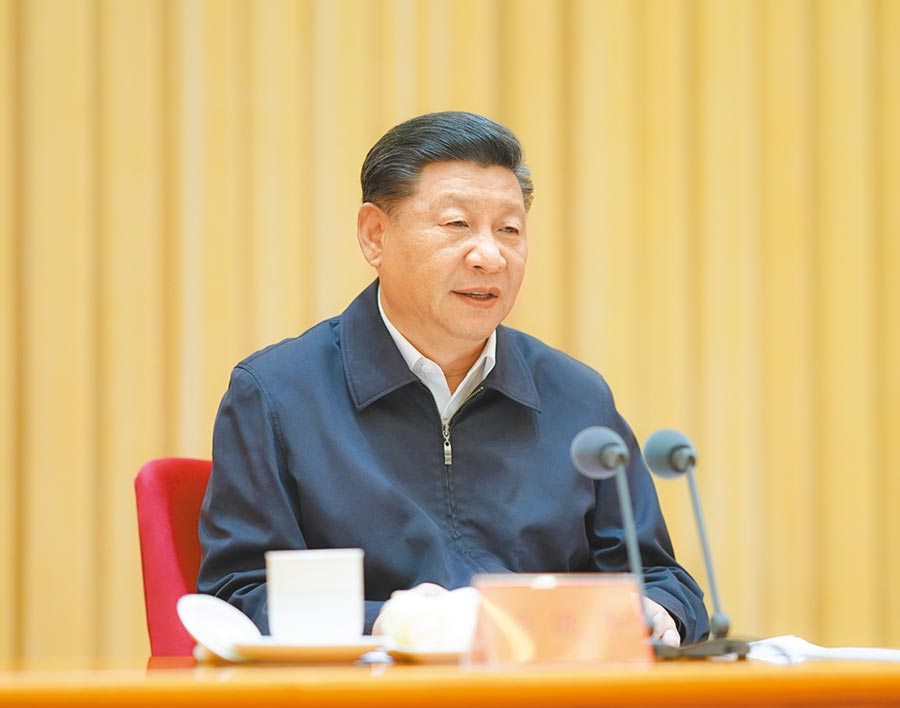 7月9日,中央和國家機關黨的建設工作會議在北京召開。中共中央總書記、國家主席、中央軍委主席習近平出席並發表講話。(新華社)