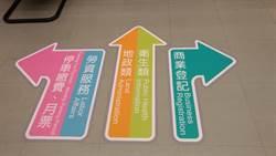 中市府貼心增雙語彩色指引 節省洽公時間