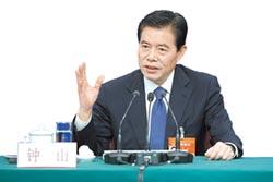 中國商務部部長鍾山 美國眼中強硬派中的強硬派