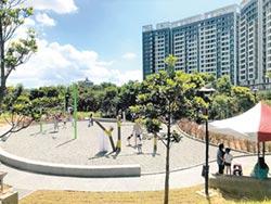 二重親子公園啟用 首見跑酷設施