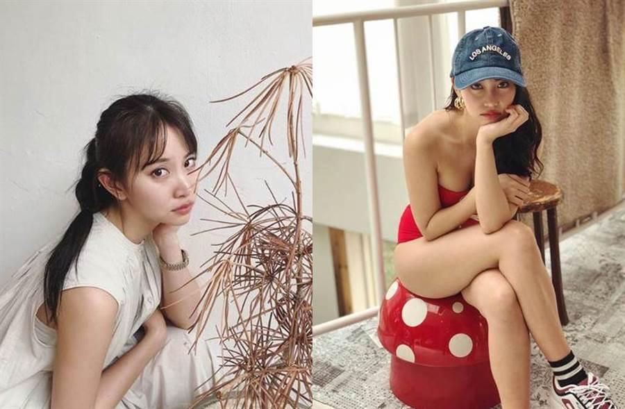 永尾瑪利亞離開AKB48後,形象變得成熟性感。(圖/翻攝自IG)