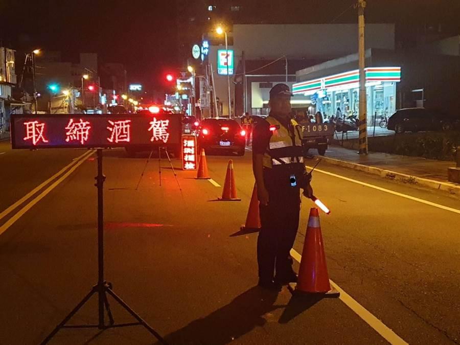 新制上路,竹南警酒駕大執法,取締案件數不減反增。(巫靜婷翻攝)