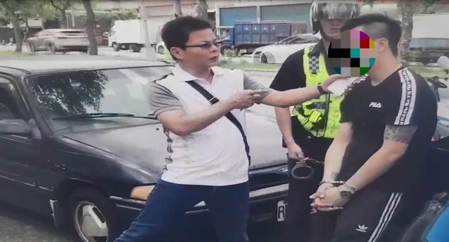 劉男因持有毒品遭逮,訊後以法送辦。(巫靜婷翻攝)