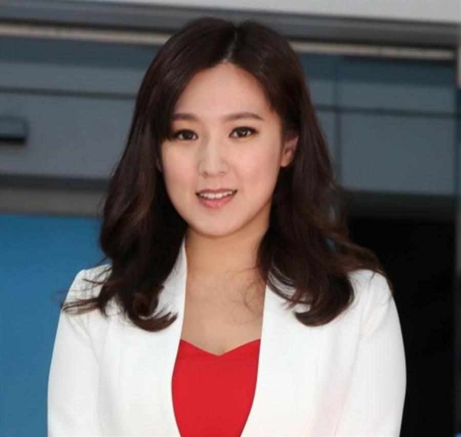 韓國瑜競選總部發言人敲定由台視主播何庭歡(圖)擔任,她因形象清新獲得推薦。(王英豪攝)