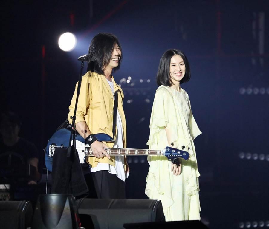 白安和五月天瑪莎頭髮相似度超高。(相信音樂提供)