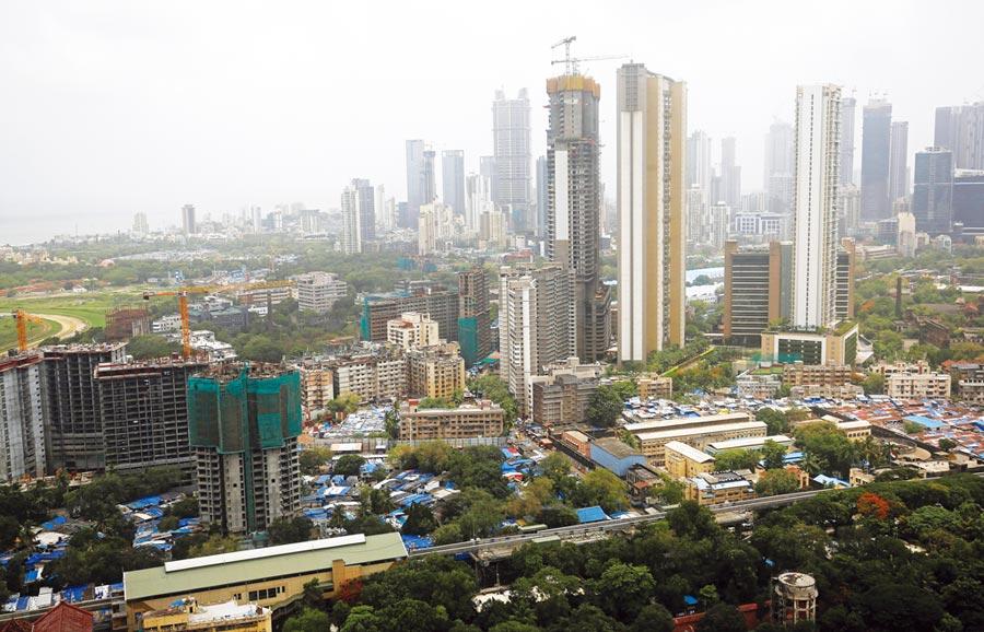 印度最高樓成爛尾樓圖╱路透
