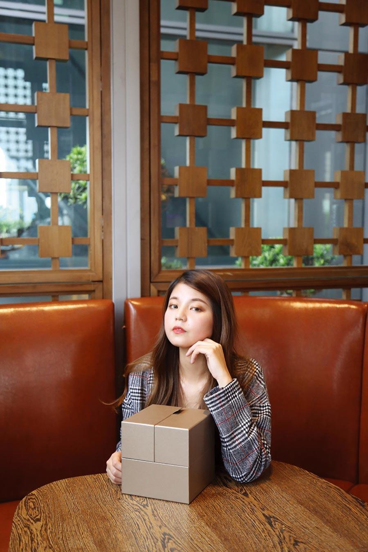 裕元花園酒店月餅禮盒具精品質感。圖/業者提供