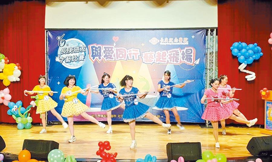 林口長庚「癌友才藝大賽」3日舉行,今年共有10組癌友隊伍參加比賽。(甘嘉雯攝)