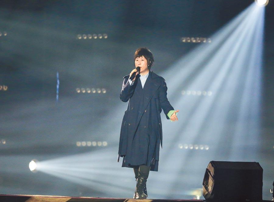 阿信昨宣布將六度登北京鳥巢開唱。(盧禕祺攝)