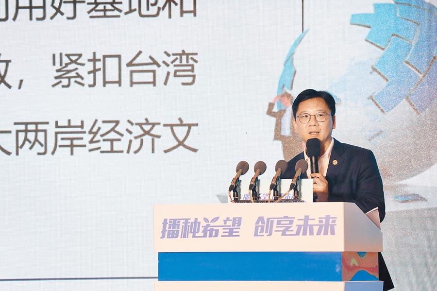 全國台企聯會長李政宏認為,創業成功率勢必不高,但如今是最好的創業時代。(記者吳泓勳攝)