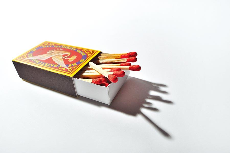 火柴盒。(CFP)