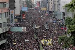 香港85罷工 港股跌逾500點