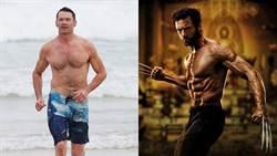 50歲金鋼狼「精壯手臂、炸裂腹肌」泡15度海水 公開健身菜單