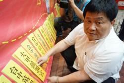 顏清標不擔心藍營分裂 「黨提名誰就支持誰」
