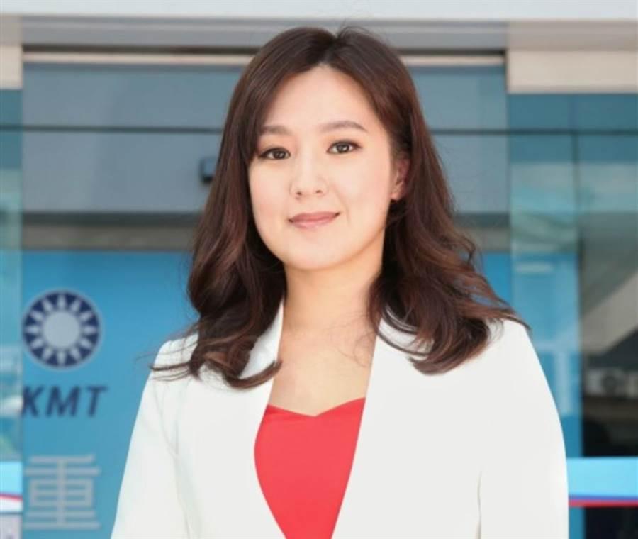 韓國瑜的競選總部發言人敲定由前台視主播何庭歡(圖)擔任。(王英豪攝)