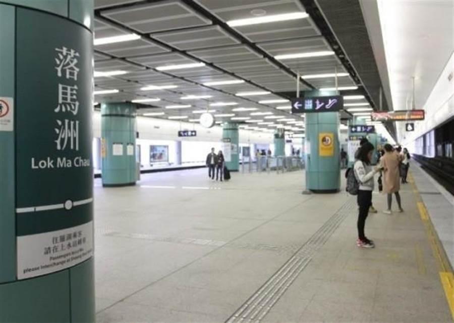 香港地鐵。(圖/東網)