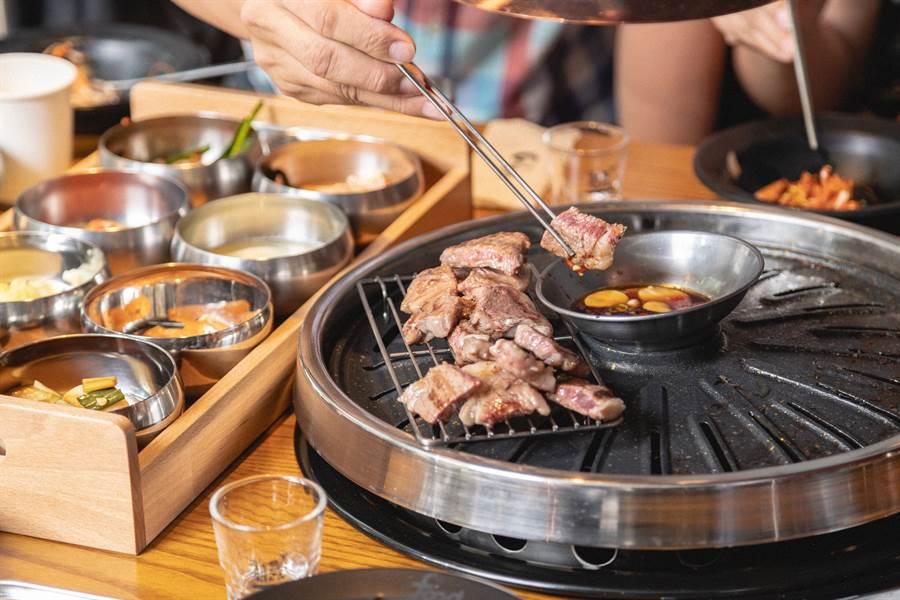韓國燒肉控絕對不能錯過的烤盤雙重奏。(圖/品牌提供)